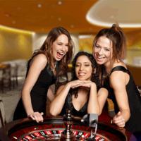Nederlandse croupiers van Oranje Casino